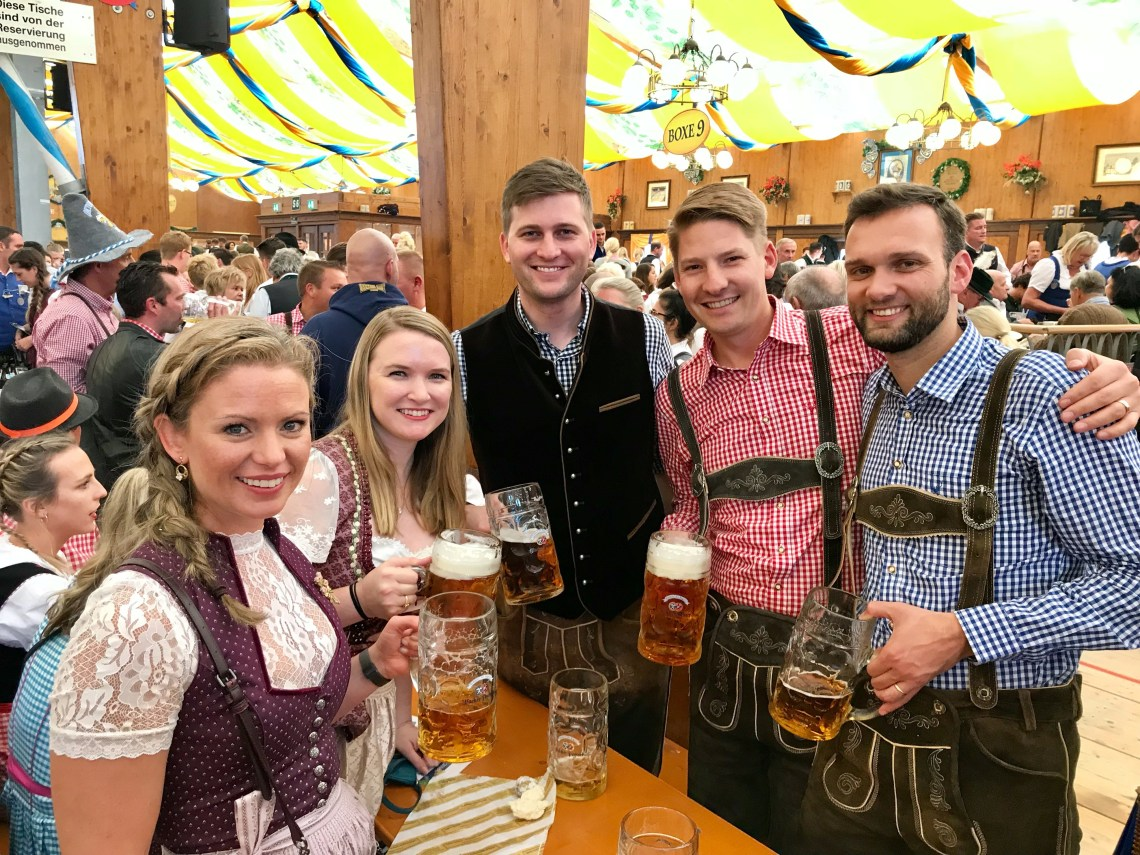 Oktoberfest in Munich, Germany _9483