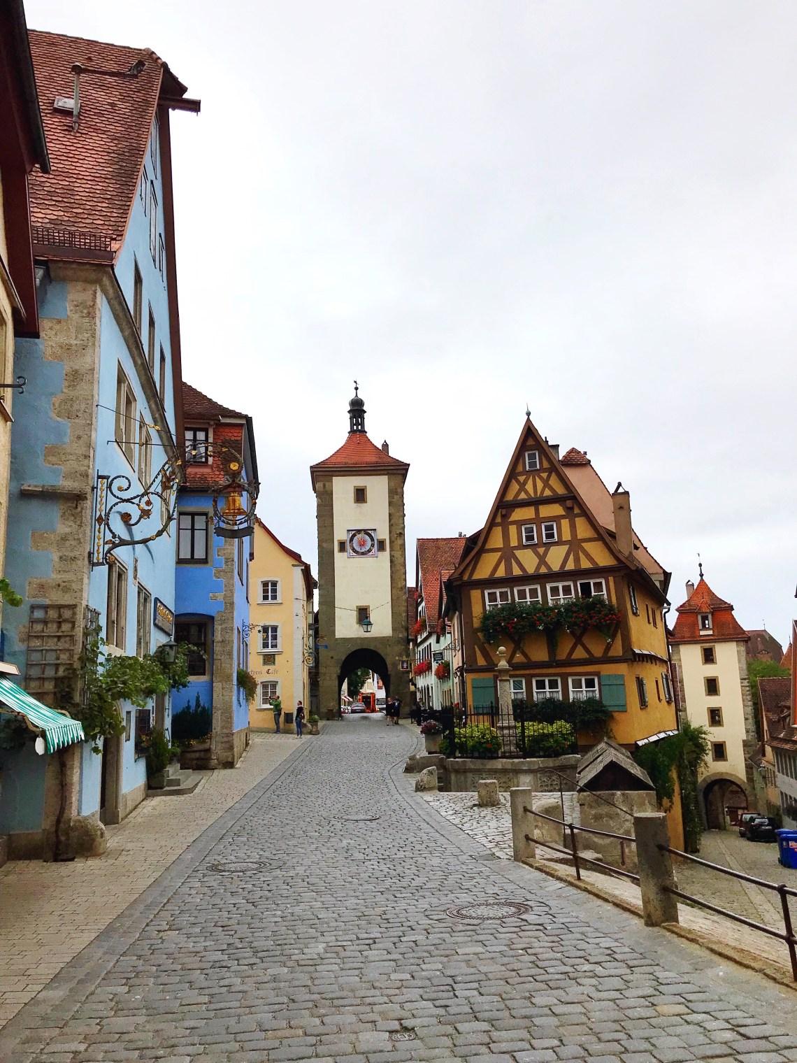 Plönlein in Rothenburg ob der Tauber