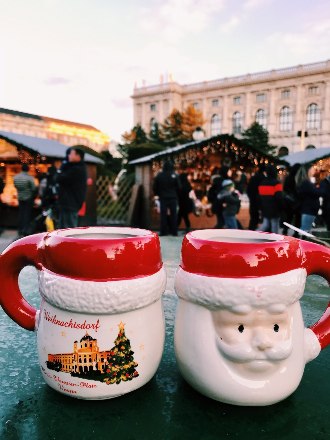Christmas markets in Vienna Austria