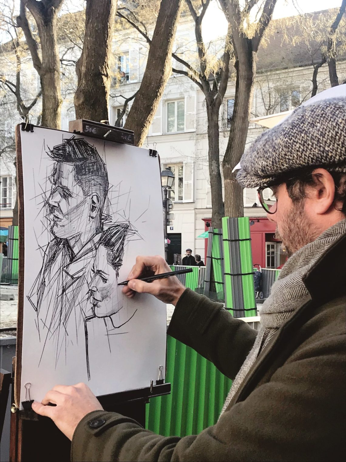 Montemarte Paris artist