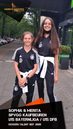 Merita und Sophia