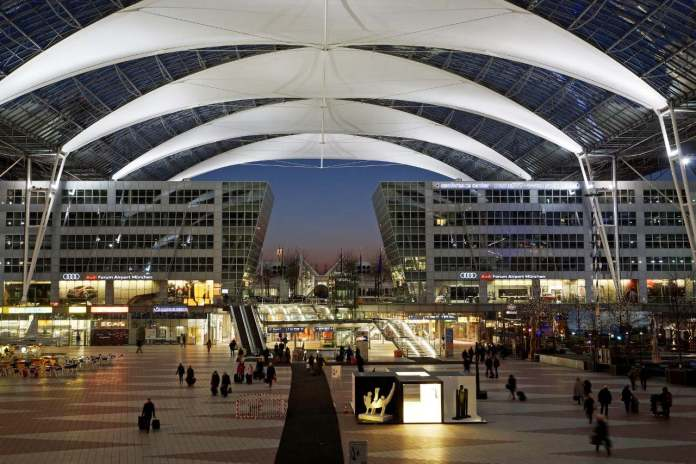 Central Area at the Munich Airport
