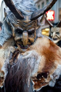 Krampus is a pre-Christian or pagan tradition that began somewhere in the depths of the Alps. Photo: Beth Berr
