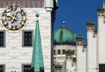 Towers, spires, balls --MunichNOW,com Munich News in Englsh