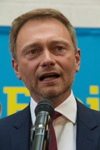 Christian Lindner, the leader of the liberal Free Democratic Party of Germany (FDP) -- wikicommons