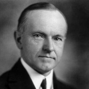 Elected in his own right in 1924, he gained a reputation as a small-government conservative, and also as a man who said very little, although having a rather dry sense of humor.