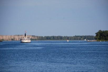 Harborfront of Toronto - view of Lake Ontario