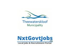 Theewaterskloof Local Municipality vacancies 2021 | Overberg Government jobs | Western Cape Municipality vacancies