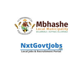 Mbhashe Local Municipality vacancies 2021 | Amathole Government jobs | Eastern Cape Municipality vacancies