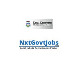 Koukamma Local Municipality vacancies 2021 | Sarah Baartman Government jobs | Eastern Cape Municipality vacancies