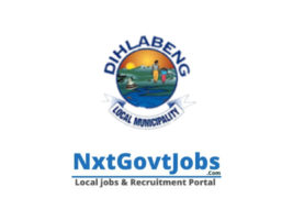 Dihlabeng Local Municipality vacancies 2021 | Thabo Mofutsanyana Government jobs | Free State Municipality vacancies