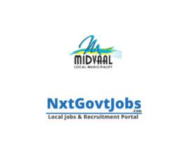 Midvaal Local Municipality vacancies 2021 | Sedibeng Government jobs | Gauteng Municipality vacancies