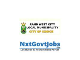 Rand West City Local Municipality vacancies 2021 | West Rand Government jobs | Gauteng Municipality vacancies