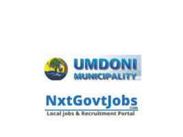 Umdoni Local Municipality vacancies 2021   Ugu Government jobs   KwaZulu-Natal Municipality vacancies