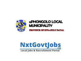 uPhongolo Local Municipality vacancies 2021   Zululand Government jobs   KwaZulu-Natal Municipality vacancies