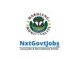 Maruleng Local Municipality vacancies 2021 | Mopani Government jobs | Limpopo Municipality vacancies
