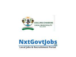 Collins Chabane Local Municipality vacancies 2021 | Vhembe Government jobs | Limpopo Municipality vacancies