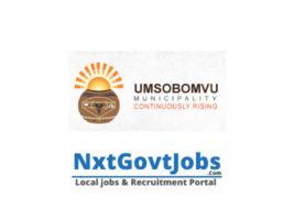 Umsobomvu Local Municipality vacancies 2021 | Pixley ka Seme Government jobs | Northern Cape Municipality vacancies