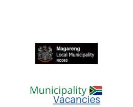Magareng Local municipality vacancies 2021   Magareng Local vacancies   Northern Cape Municipality