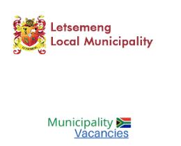 Letsemeng Local municipality vacancies 2021 | Letsemeng Local vacancies | Free State Municipality