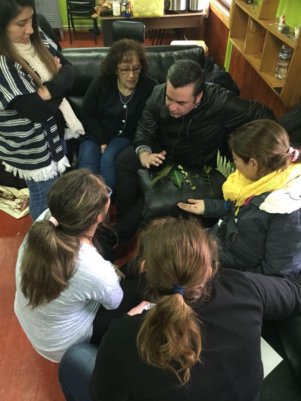 Taller Biodiversidad a Profesores Liceo Melinka 2018
