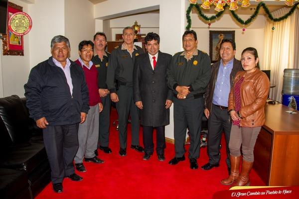 TRABAJO CONJUNTO ENTRE LA MUNICIPALIDAD DE SANTIAGO Y POLICÍA NACIONAL DEL PERÚ CONTINUA FIRME