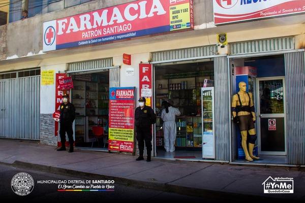 OPERATIVO INOPINADO A FARMACIAS Y BOTICAS