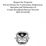 Garrett County, MD RFP for broadband network