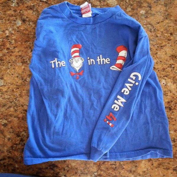 Cat in the Hat shirt