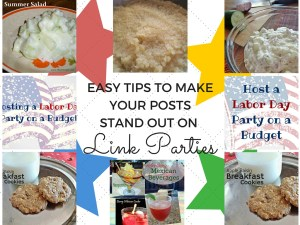 Help your posts stand out at link parties