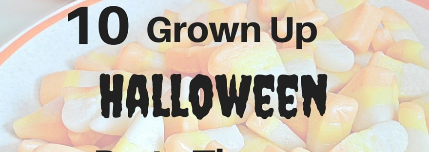 10 Grown Up Halloween Party Themes