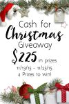 2015 Cash for Christmas Giveaway