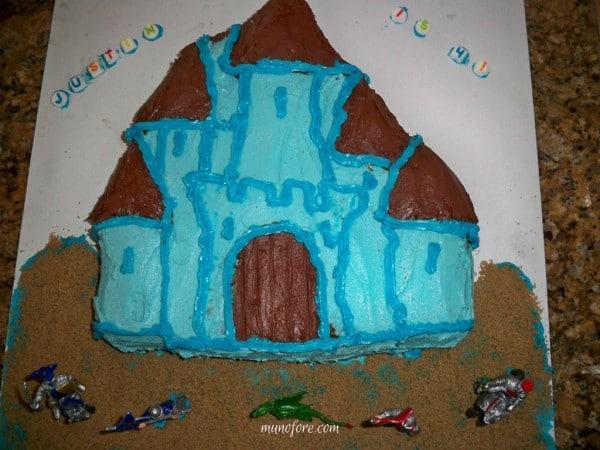 ugly cake - castle