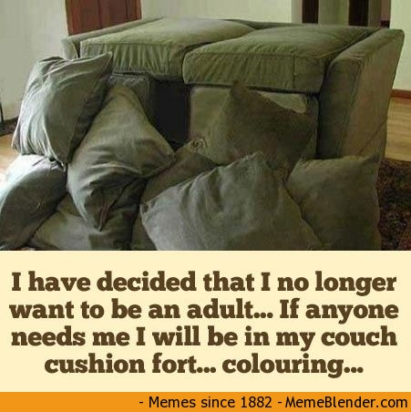 Things I miss about childhood - naps, pillow forts, hot lava, scented markers and more. nostalgia. childhood memories.