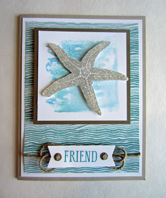 Starfish Friend from Paper Seedlings
