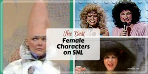 Favorite Female SNL Characters - Old school Saturday Night Live Characters, Rosanne Roseannadana, Pryaat Conehead, The Sweeney Sisters