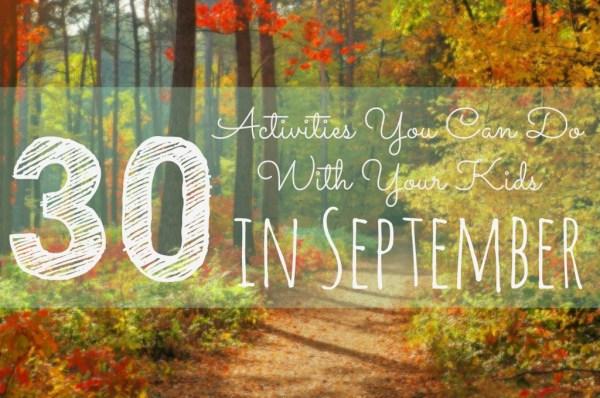 september-activities
