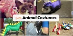 Crazy Pet Costume Memes: funny photos of animals in costumes.