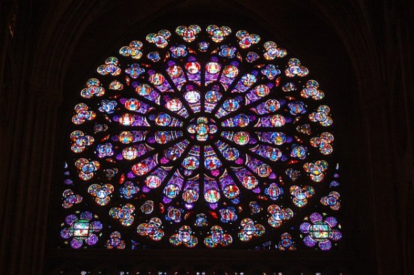 rose window Notre Dame