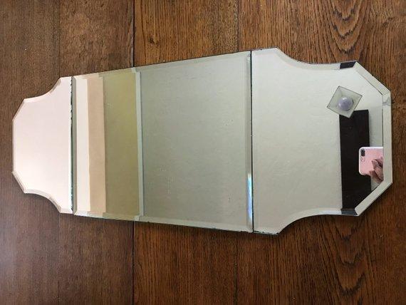 vintage centerpiece mirror
