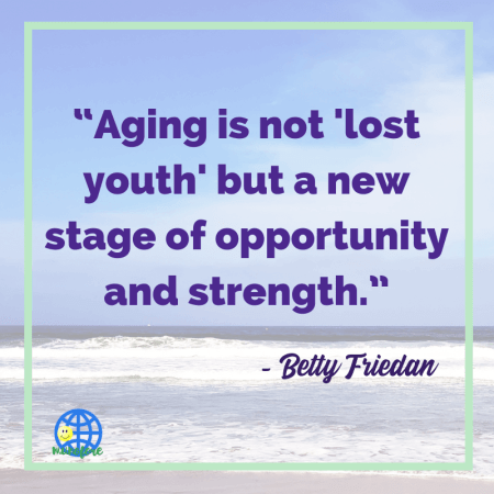 healthy aging starts with a positive attitude