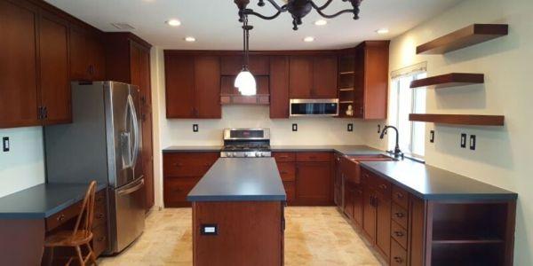 craftsman kitchen after remodel