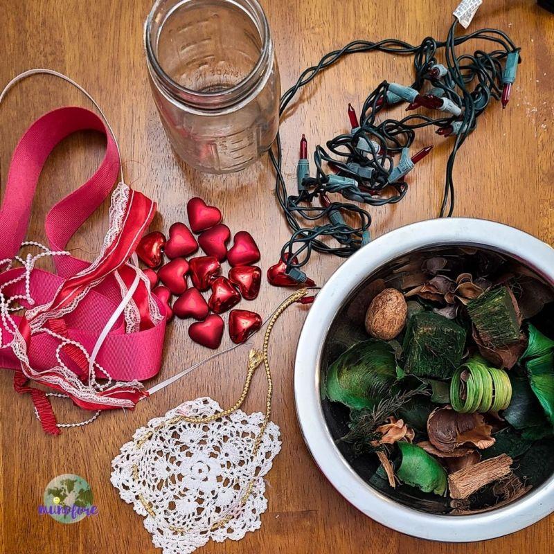 potpourri jar supplies