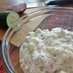 Jajuk - Summer Soup - Armenian Cucumbers in Yogurt