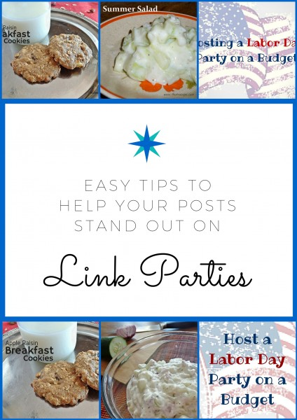 Make your posts stand out on Link Parties
