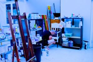 Munro at work