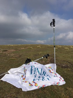 Carn na Caim and Finding Your Feet flag