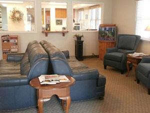 Munroe Falls dentist lobby to relax into our vision of trust and respect.