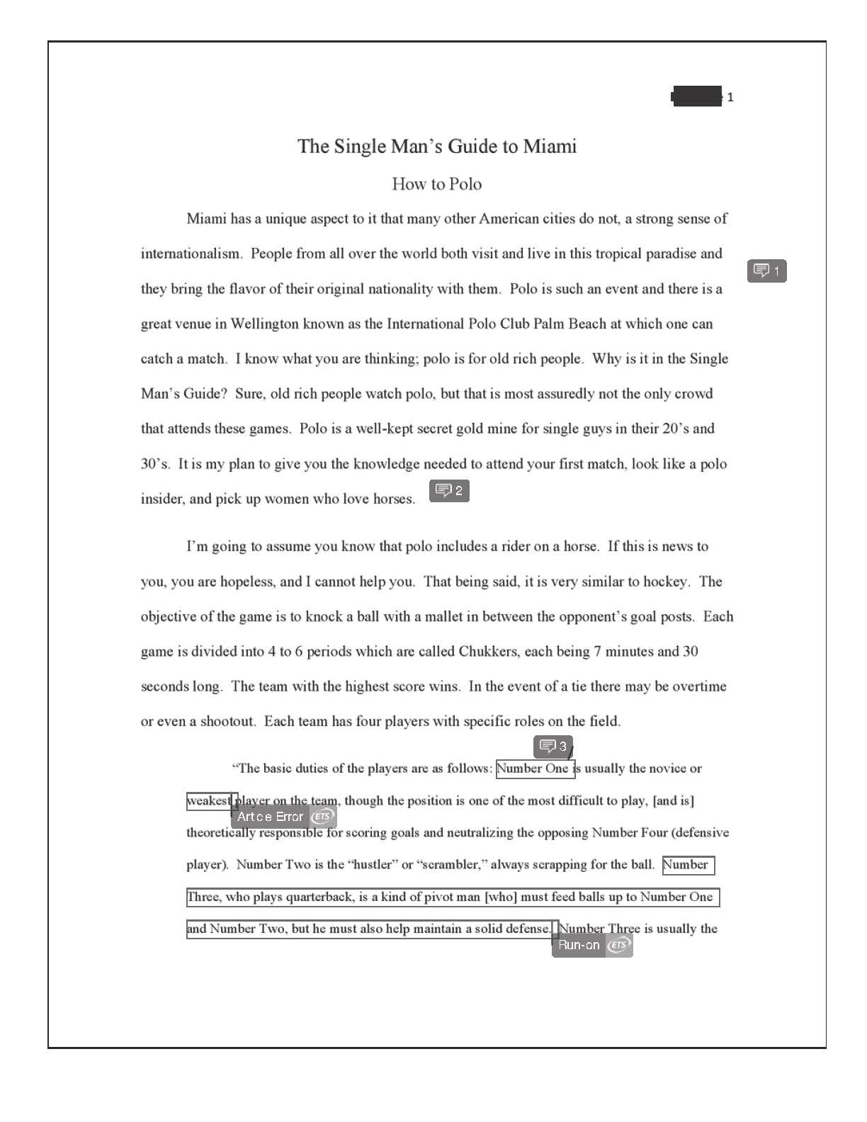 Essay regarding media in the courtroom