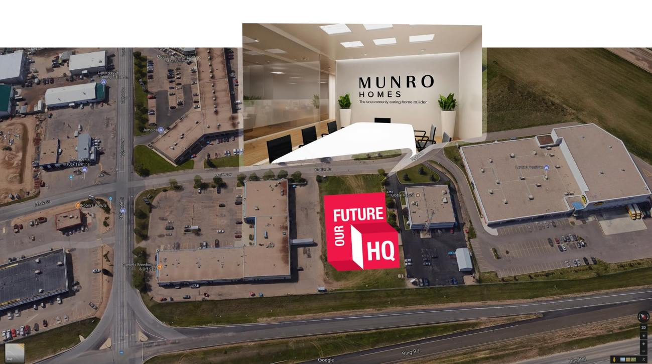 Munro Homes new HQ